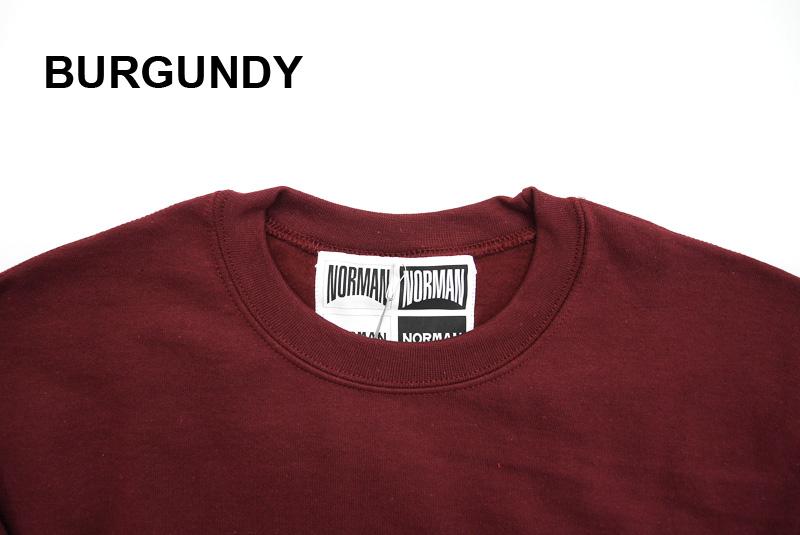 NORMAN ノルマン スウェット Logo Print Crew Neck Sweat Tee Shirts NOR-0035