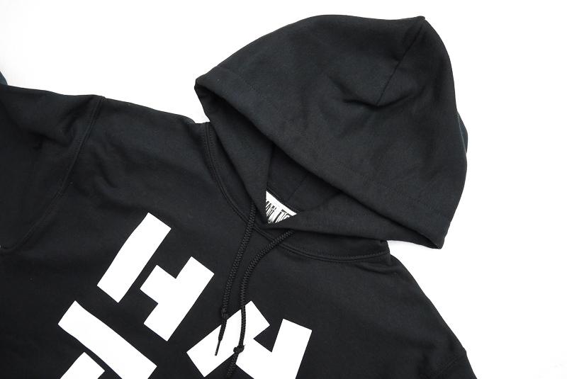 "NORMAN ノルマン スウェット Logo Print  hooded sweatshirt ""HATE"" NOR-0037"