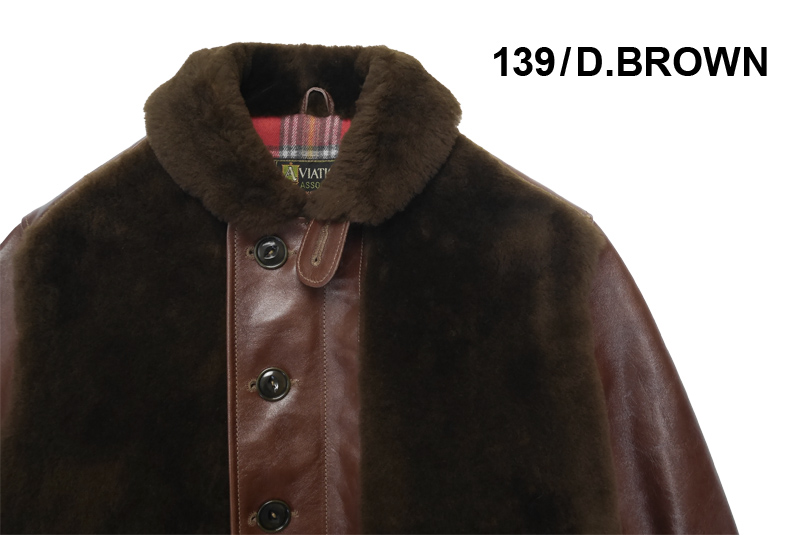"""BUZZ RICKSON'S バズリクソンズ  フライトジャケット AVIATION ASSOCIATES """"N-1 GRIZZLY JACKET """" BR80383"""