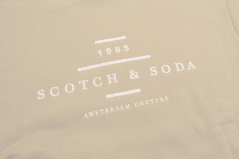 SCOTCH&SODA スコッチアンドソーダ スウェット・パーカー COTTON BLEND PULLOVER LONG SLEEVE SWEAT HOODIE 282-23806