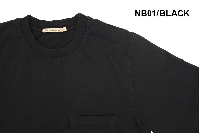 """Nudie Jeans ヌーディージーンズ 長袖 Tシャツ """"HEAVY POCKET TEE"""" N521614009"""