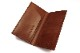 """Regalo レガーロ  ウォレット """"SLIM LONG WALLET WITHOUT COIN PURSE""""  BROWN  WL-02-BR"""