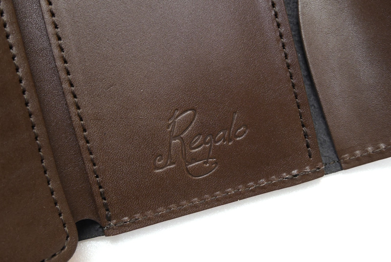 """Regalo レガーロ ウォレット """"Dolce-due"""" GREEN/BROWN WC-DOLCE-DUE"""
