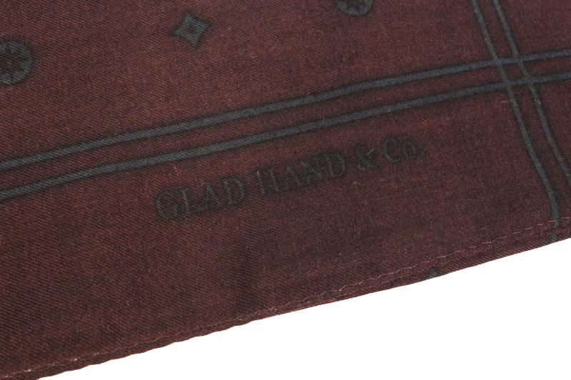 GLADHAND グラッドハンド ストール GLAD HAND FAMILY CREST BANDANA STOLE
