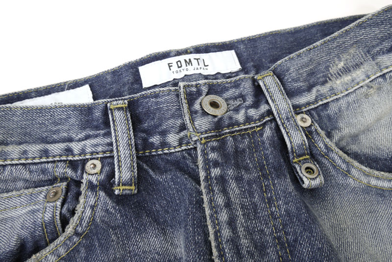 "FDMTL ファンダメンタル  ジーンズ  ""SLIM FIT STRAIGHT DENIM"" FA21MT81"