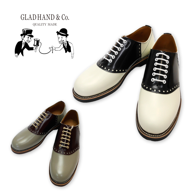 "GLAD HAND グラッドハンド サドルシューズ GLAD HAND×REGAL""SADDLE SHOES"" GLADHAND-R-S-SHOES"