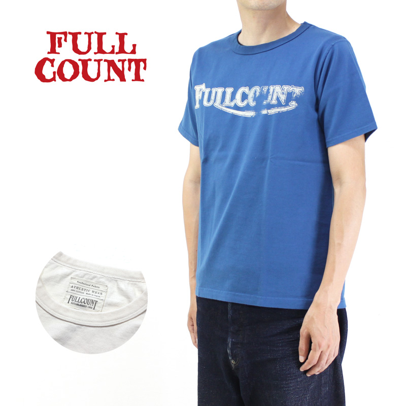 """FULLCOUNT フルカウント 半袖Tシャツ BASIC PRINT TEE """"WINNER"""" 5981"""