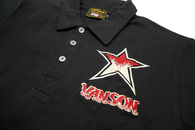 VANSON バンソン 半袖 ポロシャツ 天竺半袖ポロシャツ NVPS-909