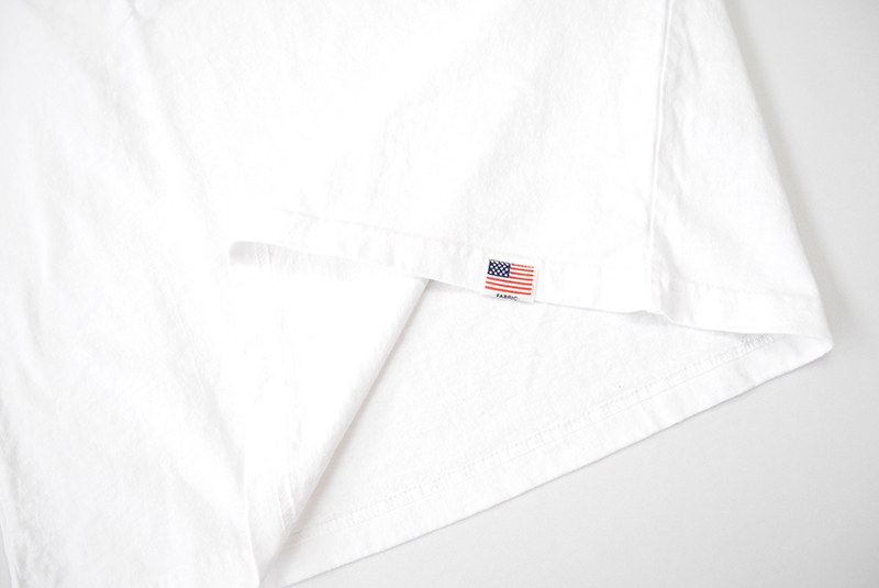 STUDIO D'ARTISAN ステュディオ・ダ・ルチザン 半袖Tシャツ USAコットンプリントTシャツ 8031A