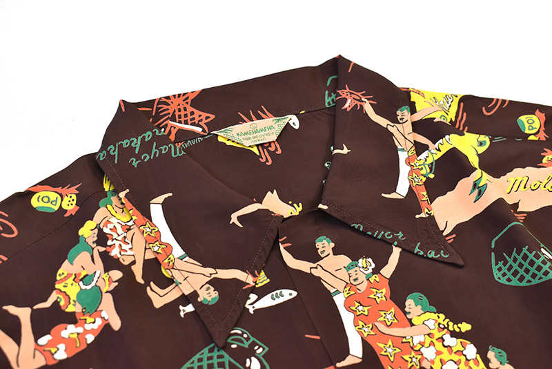 "SUN SURF サンサーフ  半袖 アロハシャツ KAMEHAMEHA SPECIAL EDITION ""MAYOR OF KAUNAKAKAI"" SS38680"