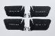 ROJAM カーボンデカール インナードアハンドルプロテクター 4点セット ランドクルーザー プラド 150系用