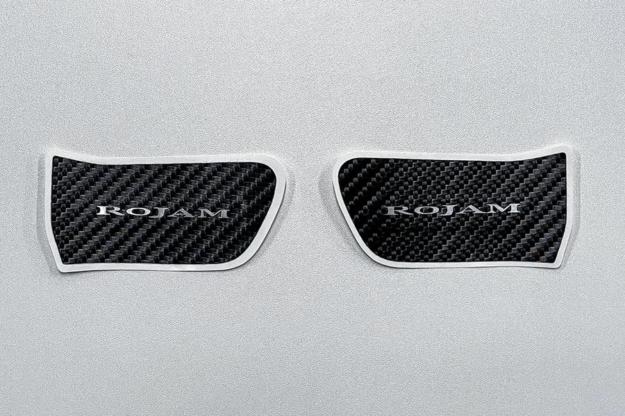 ROJAM カーボンデカール インナードアハンドルプロテクター 2点セット ヴォクシー・ノア・エスクァイア 80系用