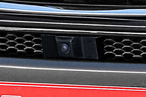 ROJAM IRT GENIK ハリアー 80系 フロントバンパースポイラー LED Ver フロントカメラ装着車対応