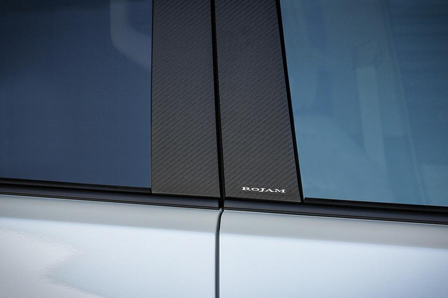 ROJAM カーボンデカール ピラー 12点セット ランドクルーザー プラド 150系用