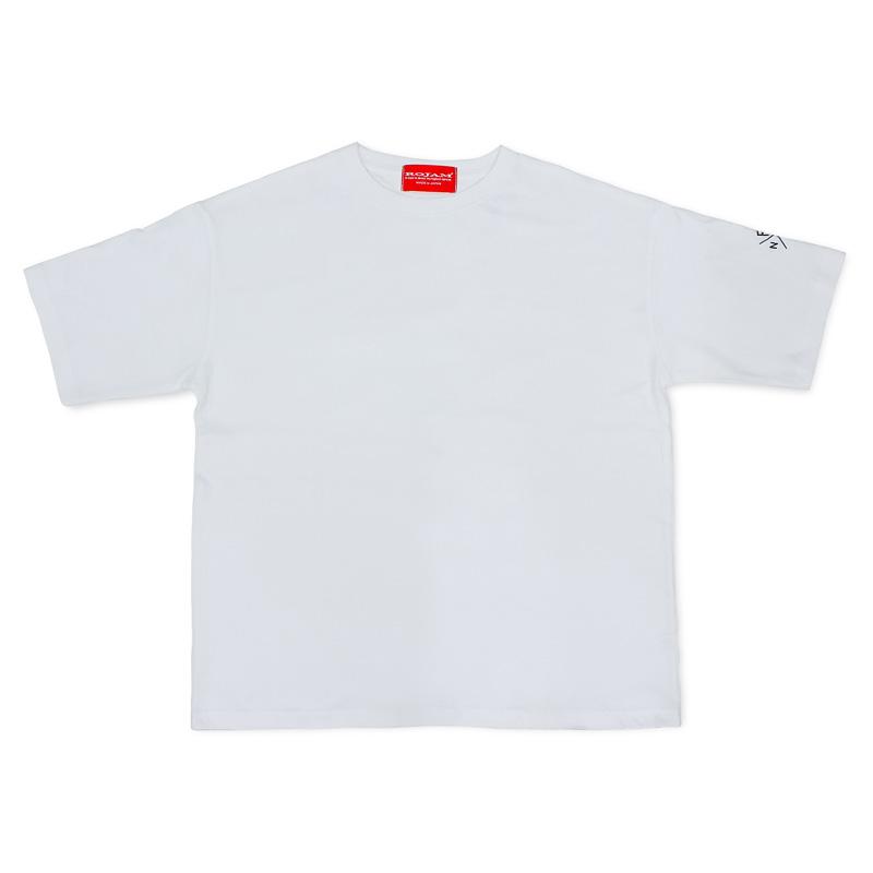 """ROJAM ビッグシルエット Tシャツ  """"ホワイト"""" ユニセックスモデル"""