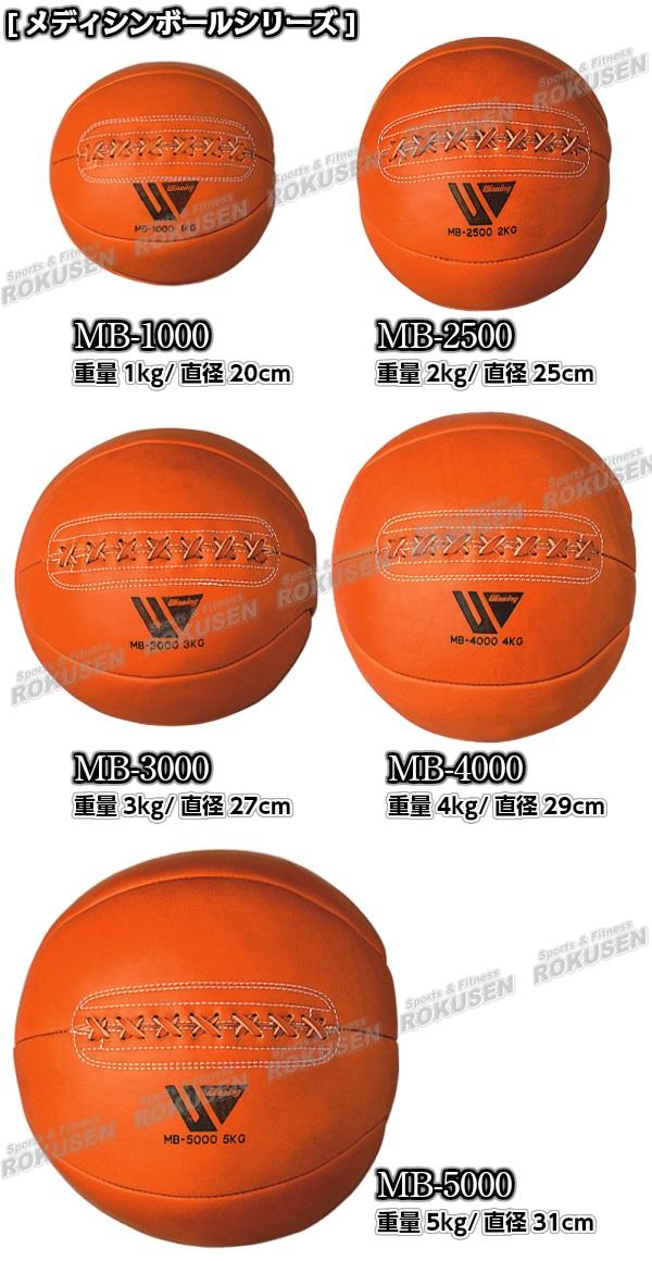 ウイニング・Winning メディシンボール 4kg MB-4000(MB4000)