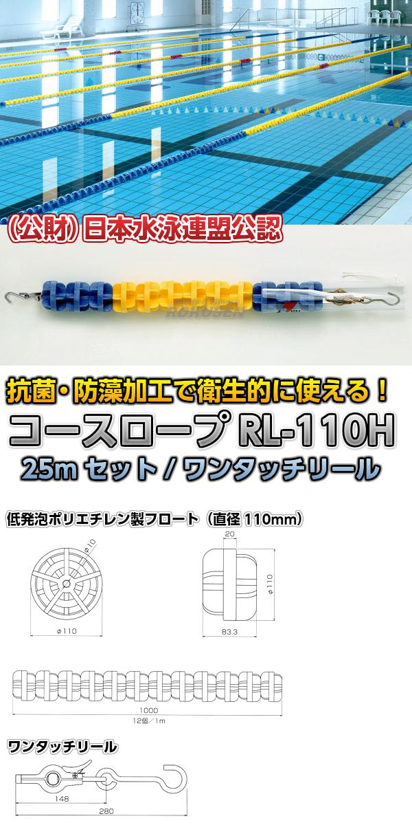 コースロープ RL-110H 25mセット