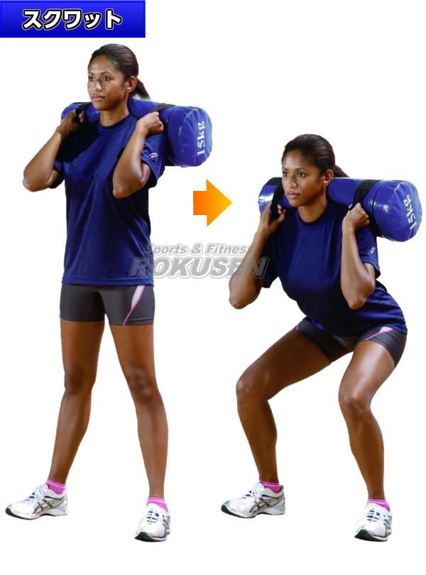 NISHI ニシ・スポーツ ウエイトトレーニングメガパワーバッグ 25.0kg 直径230×長さ600mm NT2037D ストレングスバッグ