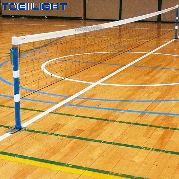 TOEI LIGHT・トーエイライト プレルボールセット100 B-5971(B5971) 支柱高さ50〜100cm(高学年向け) 専用ネット幅50cm×長さ6m ジスタス XYSTUS