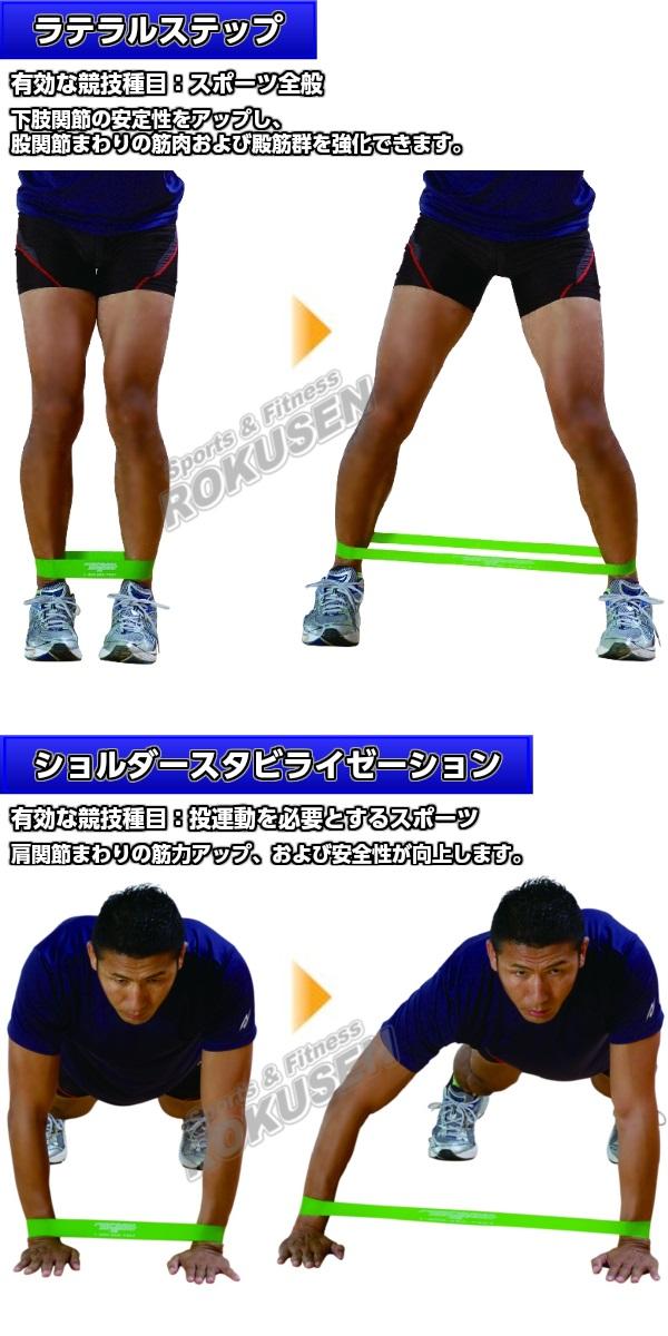 NISHI ニシ・スポーツ ミニバンド アクティベーション(イエロー) 3本組 NT7930E トレーニング用ゴムバンド トレーニングチューブ ゴムチューブ
