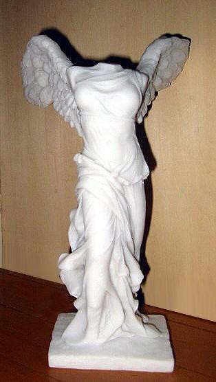 サモトラケのニケ彫像/ルーブル美術館/ Winged Victory Of Samothrace Statue Sculpture Nike(輸入品)