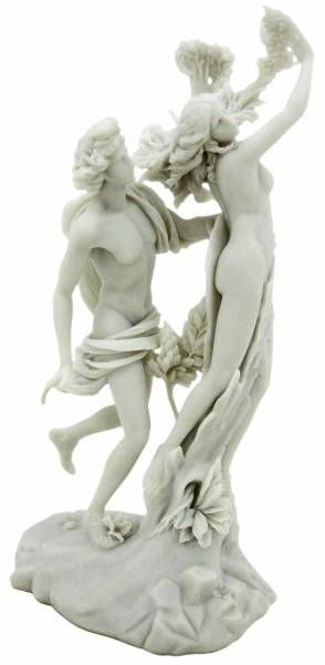 アポロ(アポロン)とダフネ ギリシャの女神の彫刻像 彫像 大理石風 (ベルニーニ作) / Apollo & Daphne Greek Statue Sculpture (輸入品
