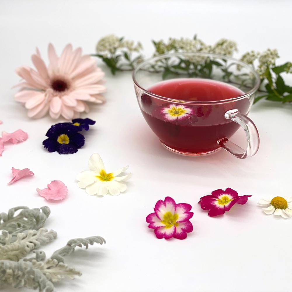 【ロンネフェルト社】<br>ローゼンテーミットブルーテン50g<br>