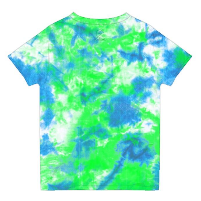 タイダイTシャツ BLUE×GREEN