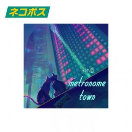 metronome town ステッカー
