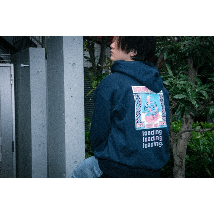 swipe sheep フーディー NAVY