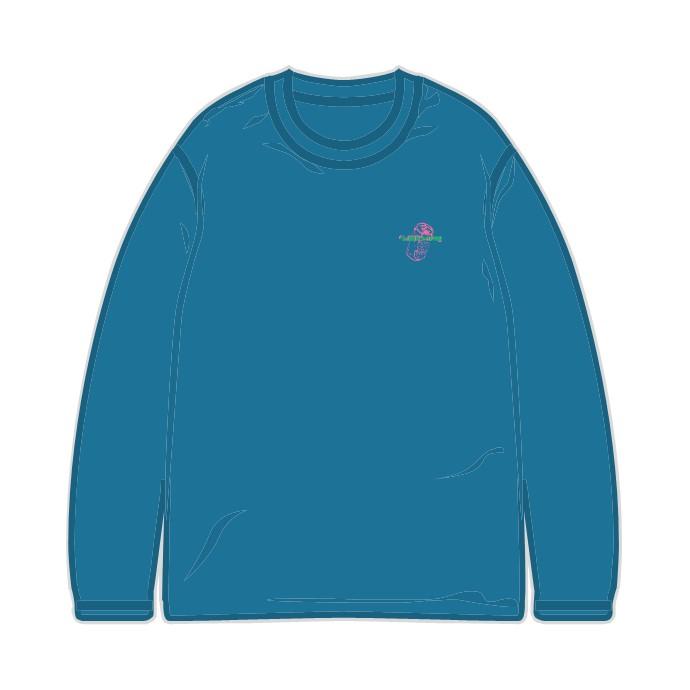 %BOY ロンT BLUE