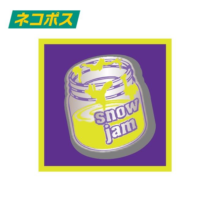 ピンバッジ snow jam