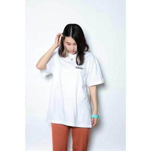 request Tシャツ WHITE