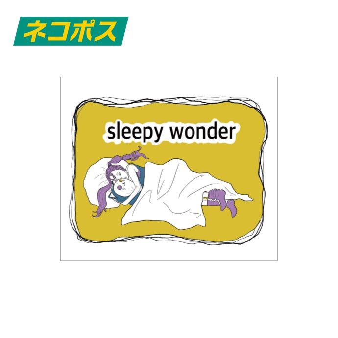 ステッカー sleepy wonder ver.