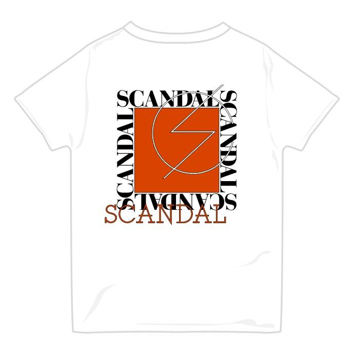 SCANDAL Tシャツ 2021 WHITE