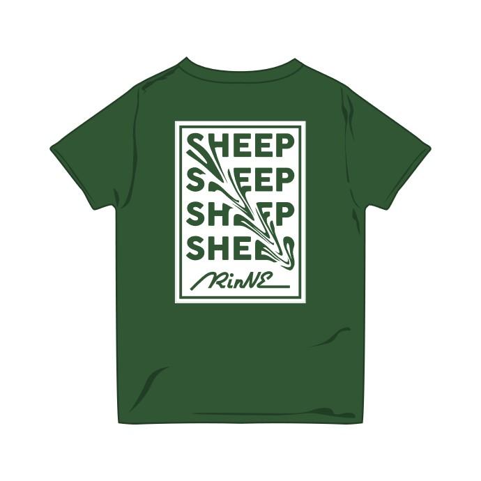 swipe sheep ツアーTシャツ GREEN