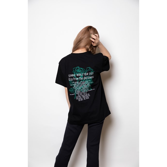 Kiss from the darkness Tシャツ BLACK