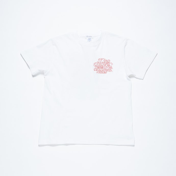 Kiss from the darkness Tシャツ WHITE