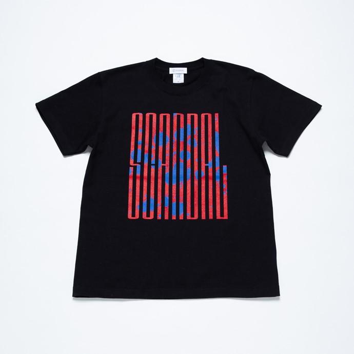 SCANDAL Tシャツ 2020 BLACK
