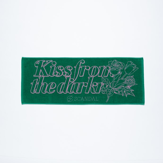 Kiss from the darkness タオル GREEN