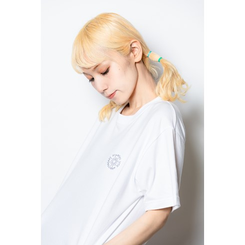 15th Anniversary ロゴ 刺繍Tシャツ WHITE