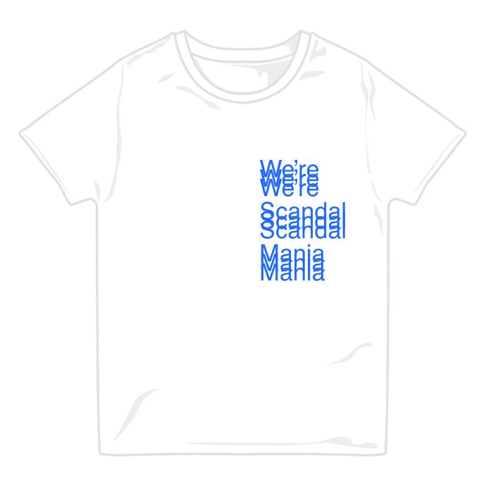MANIA Tシャツ 2019 WHITE