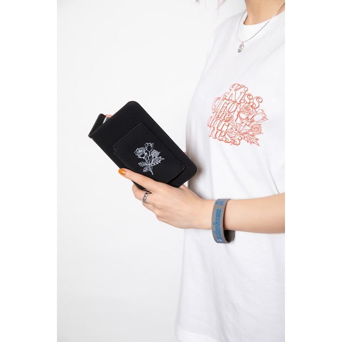 手帳型スマホケース BLACK