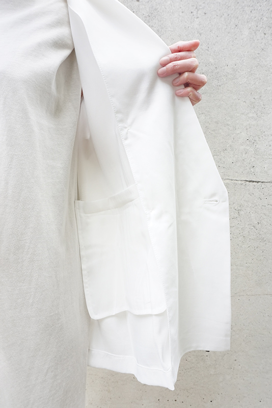 【SALE】TRANOI. サイドスリットシアージャケット