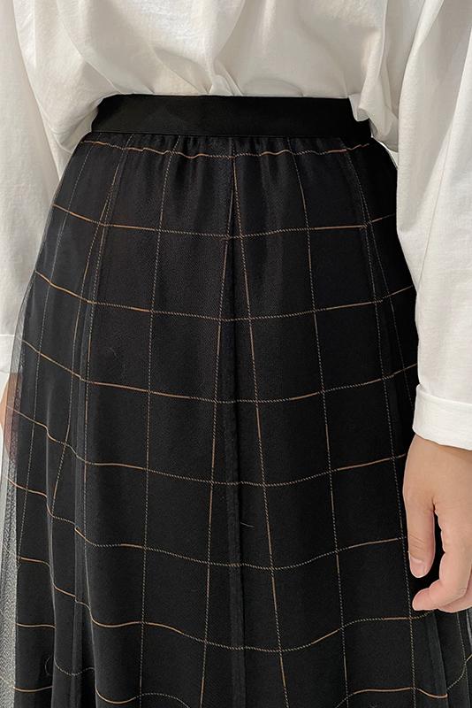Eimee Law チュールマーメイドフレアスカート