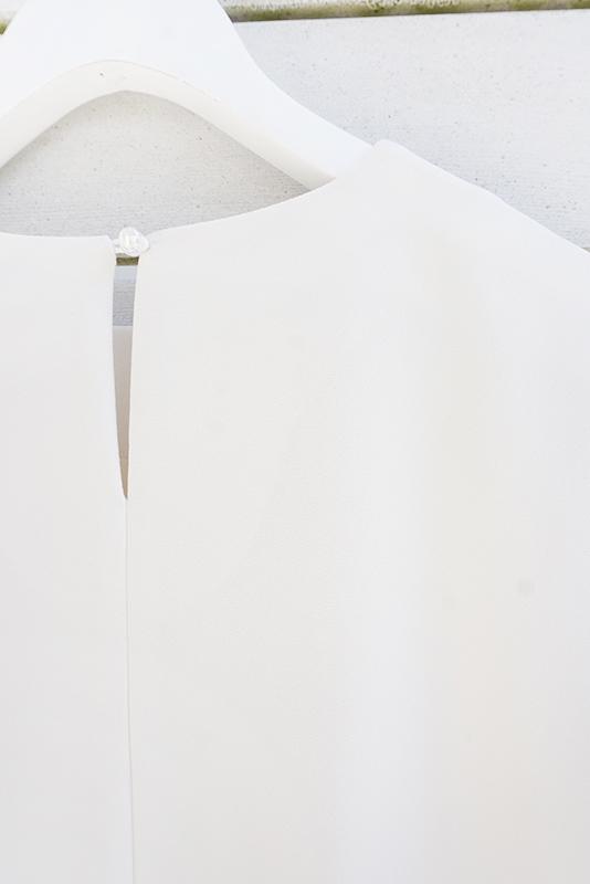 【SALE】AMLILE ノースリーブアシンメトリーワンピース