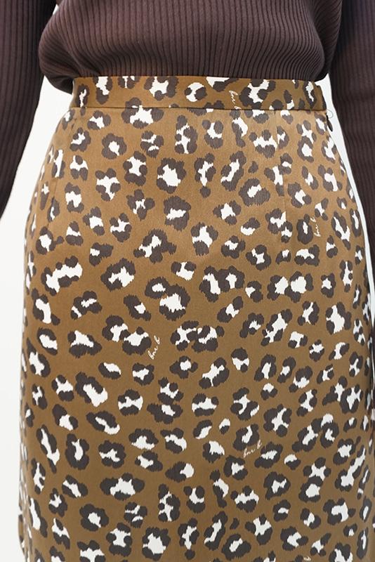 BANNER BARRETT レオパードスカート