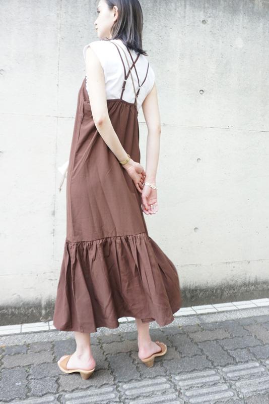 【SALE】TORRAZZO DONNA ティアードキャミワンピース