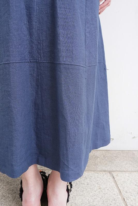 【SALE】SALT+JAPAN リネンビスチェドレス