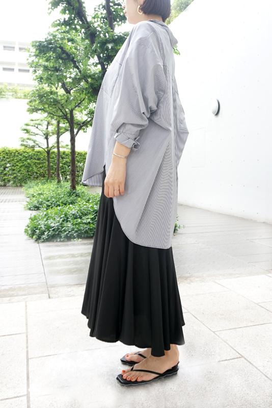 【SALE】SUGAR ROSE ストライプオーバーシャツ
